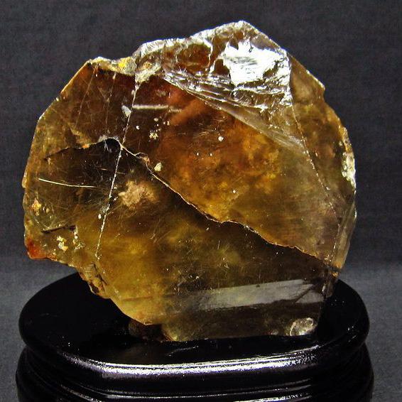 1.3Kg 金針ルチル水晶 原石[T725-1820]