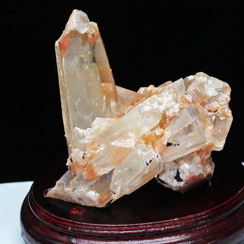 1.7Kg レッドファーデン水晶クラスター[T738-573]