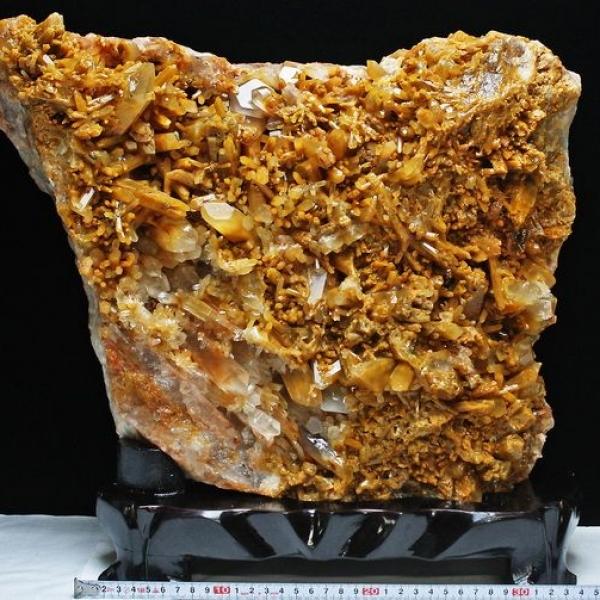 23.2Kg ゴールドファーデン水晶クラスター[T768-231]