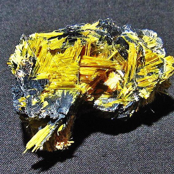 ゴールドタイチンルチルクラスター[T801-263]