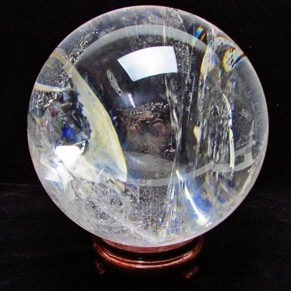 8.2Kg ヒマラヤ水晶 丸玉 180mm [T801-363]
