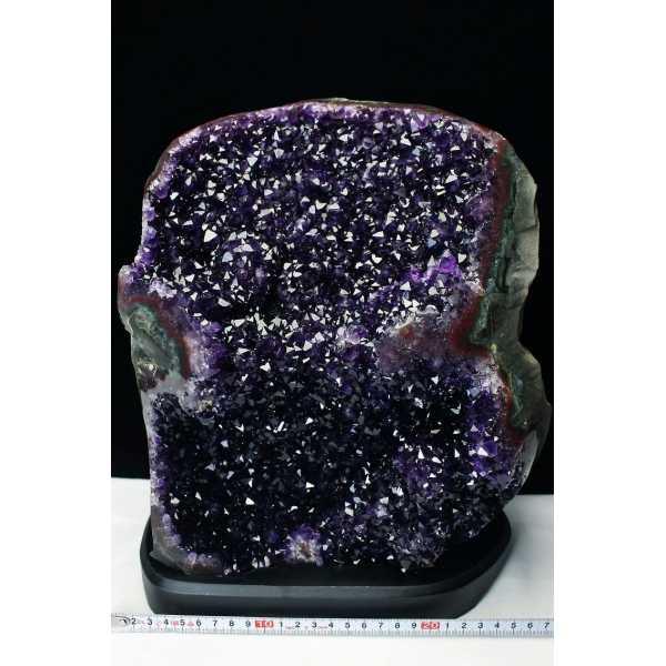 13.2Kg ウルグアイ産 アメジストクラスター amethyst [T95-9681]
