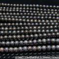 ブラックオパール 一連 ビーズ 9.5mm[H54-31]