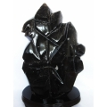 ★セット割対象品!★ 43.3Kg 黒水晶 原石 同梱不可 [T43-5375]