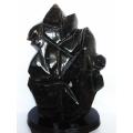 43.3Kg 黒水晶 原石 同梱不可 [T43-5375]