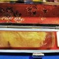豪華ルチル 印材 ※別途料金で篆刻可能 15mm [T44-512]