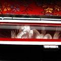 ルチル水晶 中彫り 龍 印材 12mm ※別途料金で篆刻可能[T45-39]
