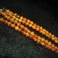 ファイナルグレード金針ルチル水晶 ネックレス 5mm [T553-78]