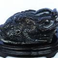 16.2Kgパワーストーン黒水晶(モリオン)金蟾