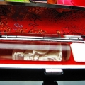 ルチル水晶 中彫 観音 観音 印材 15mm ※別途料金で篆刻可能[T71-18]