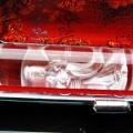 ルチル水晶 中彫 観音 観音 印材 18mm ※別途料金で篆刻可能[T71-23]