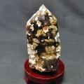 ルチルガーデン水晶 六角柱 [T725-1674]