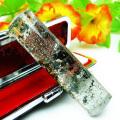 ガーデン水晶 印材 ※別途料金で篆刻可能 15mm [T89-19]