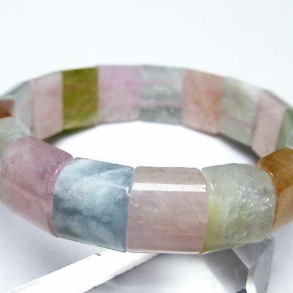 MIXベリルバングル 緑柱石[T150-1658]