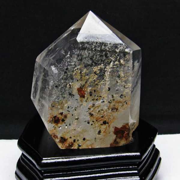 スーパーセブン水晶 六角柱[T592-2581]
