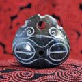 遮光器土偶石笛(指孔付き・ペンダント仕様)