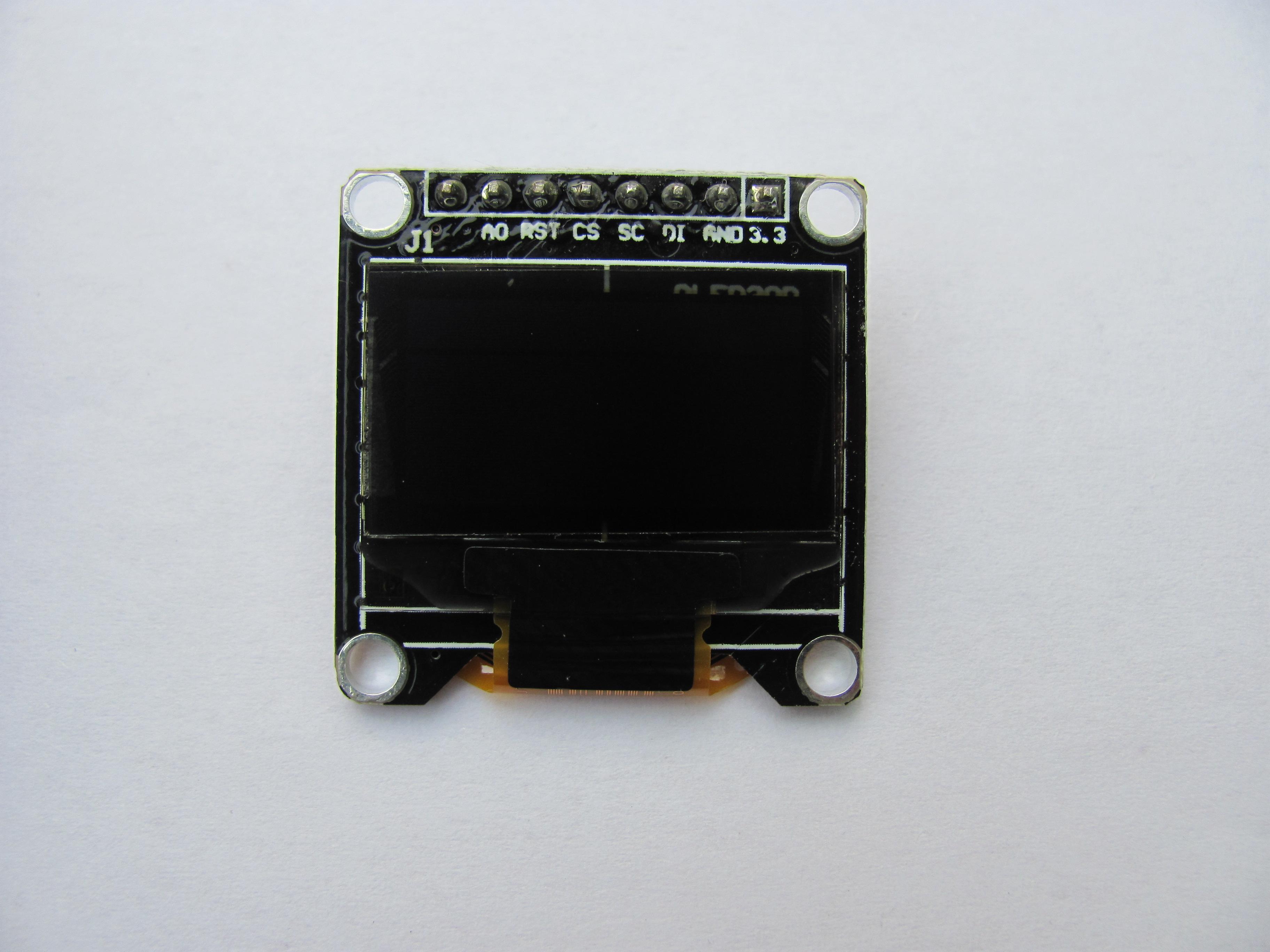 小型OLED液晶モジュール(Mini-STM32ボードと直結可)