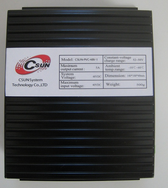 ●他者より2~3割安い● MPPT型太陽光充電コントローラ(特許を利用して開発した)