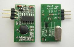 ASKとFSK変換無線送受信モジュールHM-T/HM-R【メール便可】
