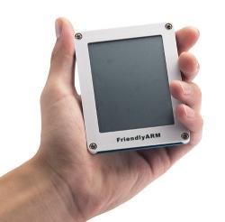 """タッチパネル付き3.5""""TFT液晶"""