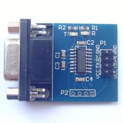 RS232C-TTLレベル変換基板【メール便可】