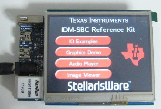 """ARM Cortex-M3/LM3S9B92開発キット(3.5""""TFT液晶タッチパネル付き)"""