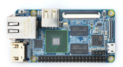 ARM/Cortex-A9・4コア S5P4418開発ボードNanoPi_2 Fire(ギガビットイーサネット、ヒットシンク付き、GPIOはRaspberry Piとコンパチ)