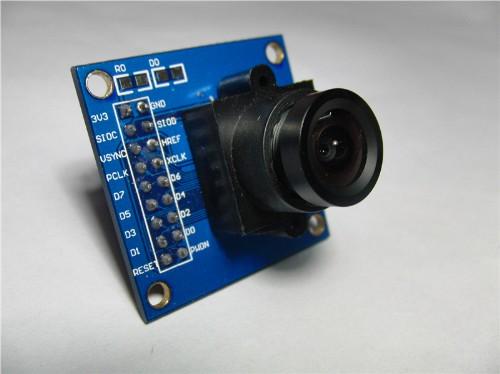 OV7670カメラモジュール(30万画素、SCCBインタフェース)