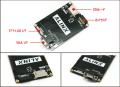 FPGA/CycloneIV EP4CE15+EPCS64ボードのカメラ拡張ボード(TFT-LCD I/F、OV7670カメラモジュールI/F搭載)