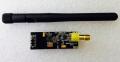 2.4G帯遠距離無線送受信モジュールnRF24L01P+PA+LNA(2DBアンテナ付き)
