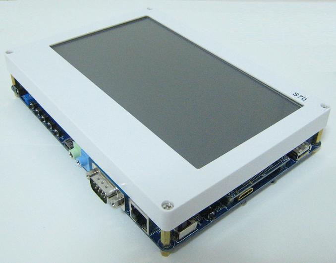 """●他社より4割安い● 「送料無料」ARM/Cortex-A8・S5PV210 Tiny210簡易開発キット(7""""TFT液晶タッチパネル付き)"""