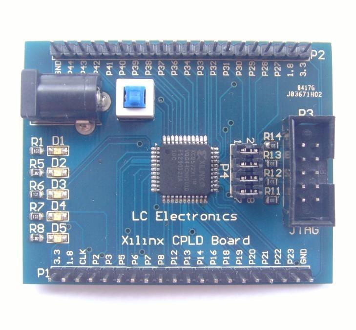 Xilinx XC9572XL CPLD開発キット【メール便可】