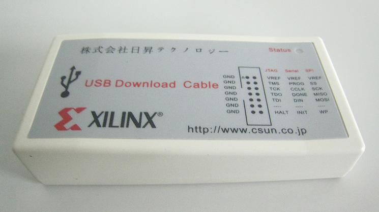 XILINX USBダウンロードケーブル(JTAG-HS2)