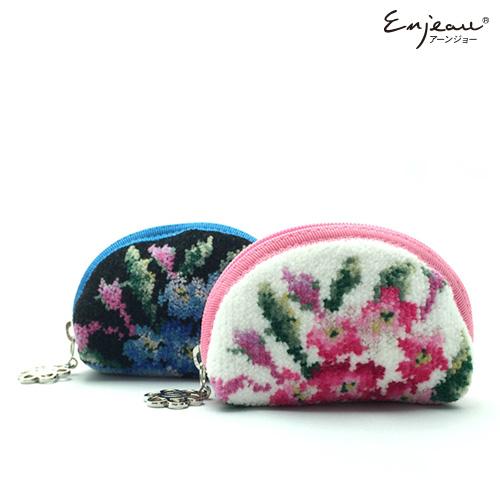 Enjeau(アーンジョー):【ミオ】(ピンク、ブラック) 小銭入れ