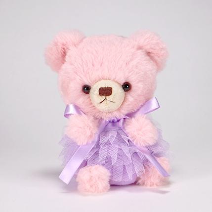 pom pom Bear メロディ ピンク チュチュ パープル