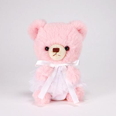 pom pom Bear メロディ ピンク チュチュ ホワイト