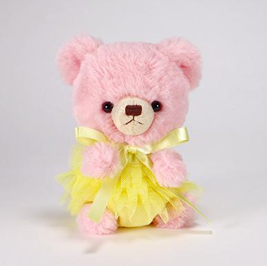 pom pom Bear メロディ ピンク チュチュ イエロー