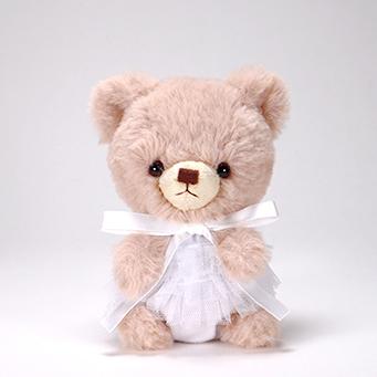 pom pom Bear メロディ ブラウン チュチュ ホワイト