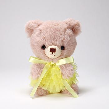 pom pom Bear メロディ ブラウン チュチュ イエロー