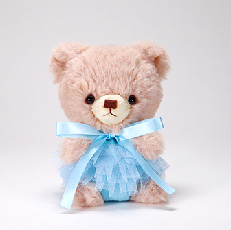 pom pom Bear メロディ ブラウン チュチュ ブルー