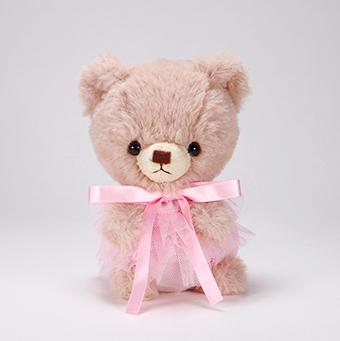 pom pom Bear メロディ ブラウン チュチュ ピンク