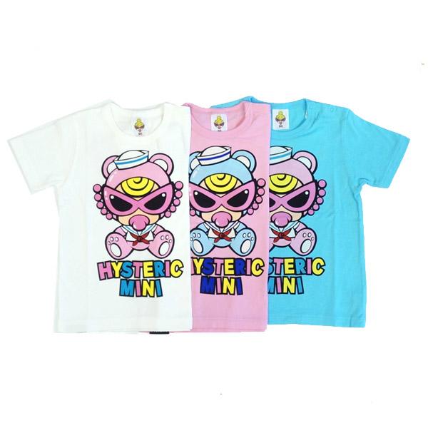 【2019春夏  HYSTERIC MINI】ヒステリックミニ MINI テディーミニゆったりTシャツ(90cm)