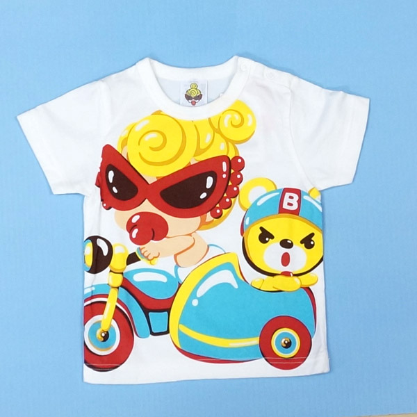 【2019春夏  HYSTERIC MINI】ヒステリックミニ CHITTY CHITTY RACETシャツ(80・90cm)