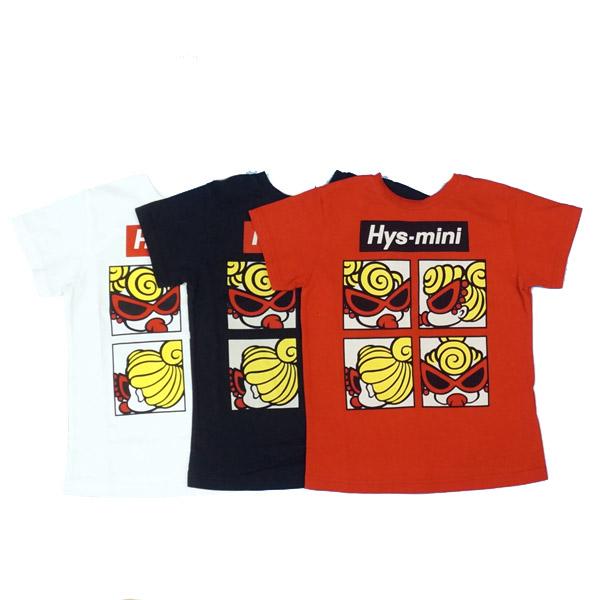 【2019春夏  HYSTERIC MINI】ヒステリックミニ 前後リバーシブル BIG Tシャツ(130-140cm)
