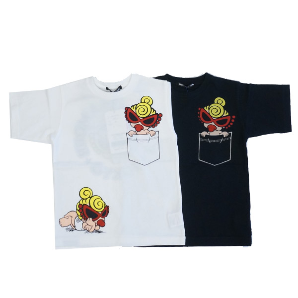 【プライスダウン】【代引き不可】【2019春夏セール商品30%OFF  HYSTERIC MINI】ヒステリックミニ Tシャツ(100-120cm)