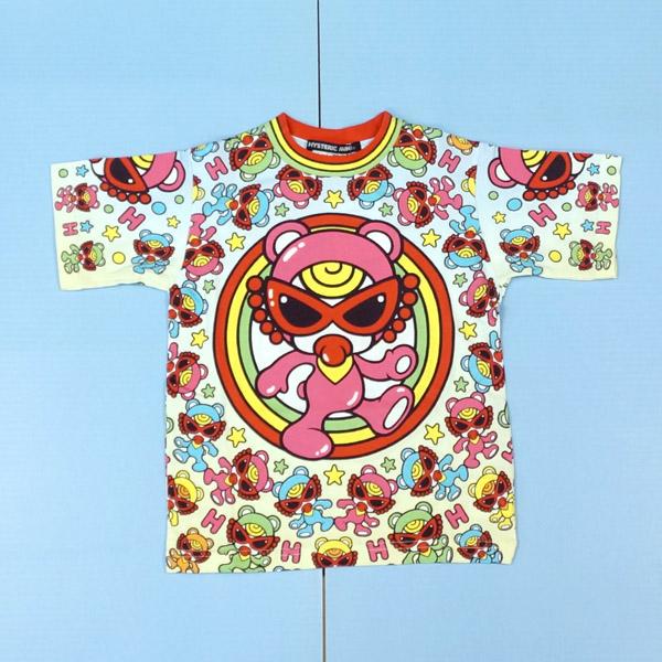【2019春夏  HYSTERIC MINI】ヒステリックミニ Tシャツ(100-120cm)