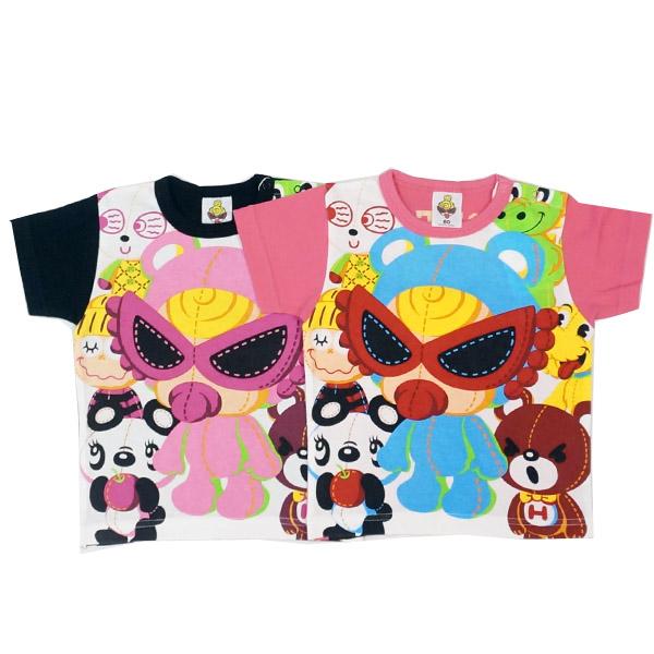 【2019春夏  HYSTERIC MINI】ヒステリックミニ HYSTERIC MINI FAM Tシャツ(80-90cm)