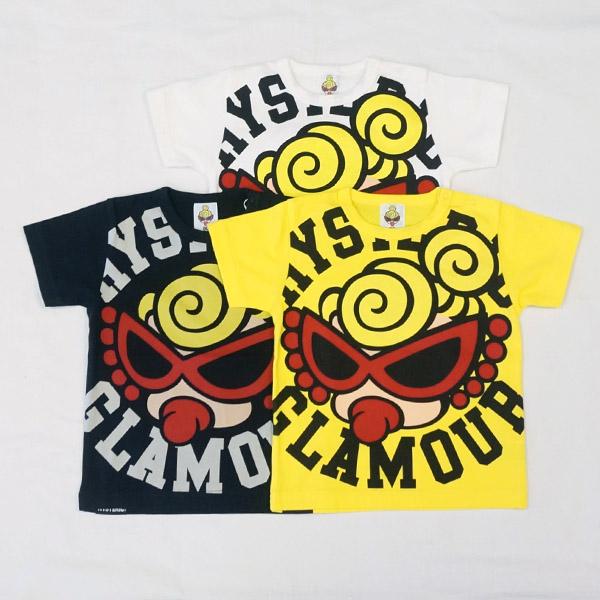 【2019春夏  HYSTERIC MINI】ヒステリックミニ STANDARD MARK 半袖Tシャツ(80.90cm)