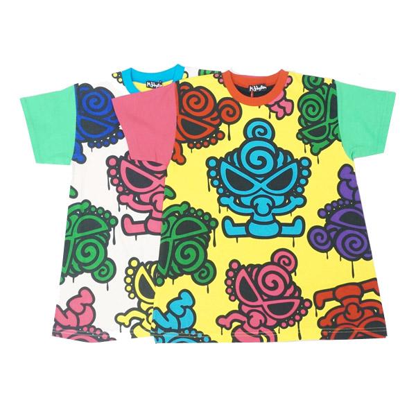 【2019春夏  HYSTERIC MINI】ヒステリックミニ GRAFFITI MINI BIGTシャツ(100-120cm)