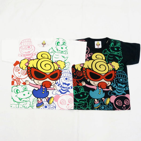 【2018春夏  HYSTERIC MINI】ヒステリックミニ VANILLA BEANS 半袖Tシャツ(80・90cm)